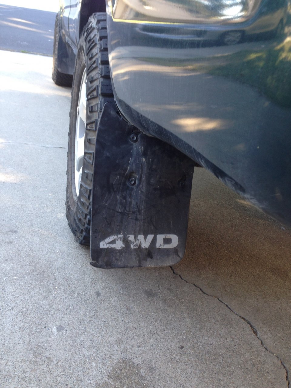Mudflap Regulations