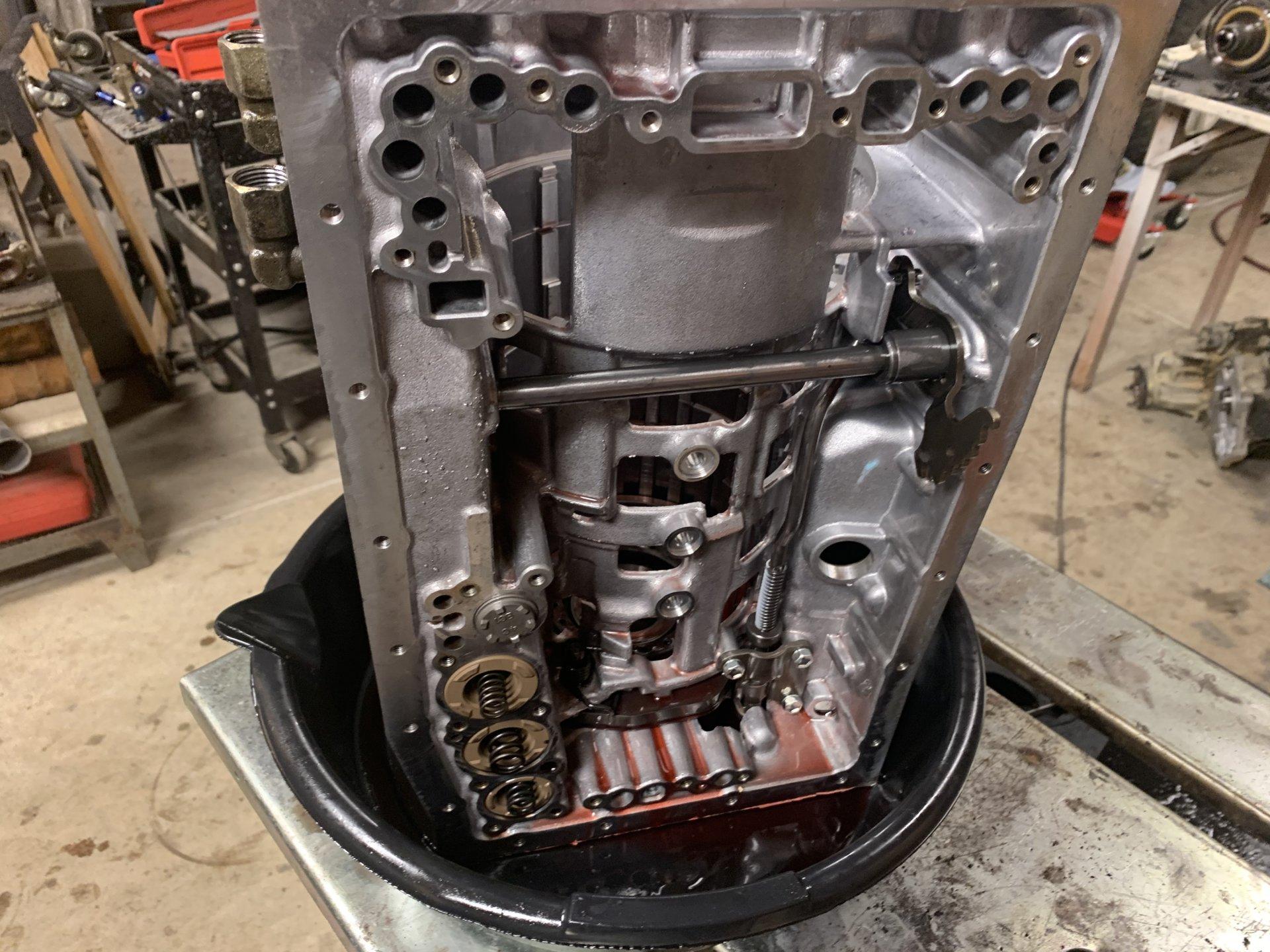 Replacing my '03 LX470's Transmission | IH8MUD Forum