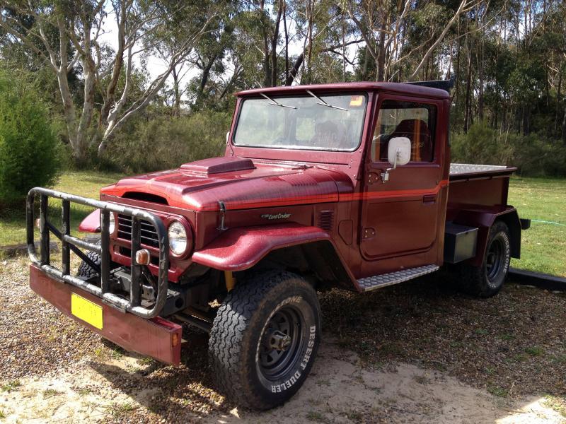 Toyota Huntsville Al Long time Fan of the FJ45 (Australia). Now an owner ...
