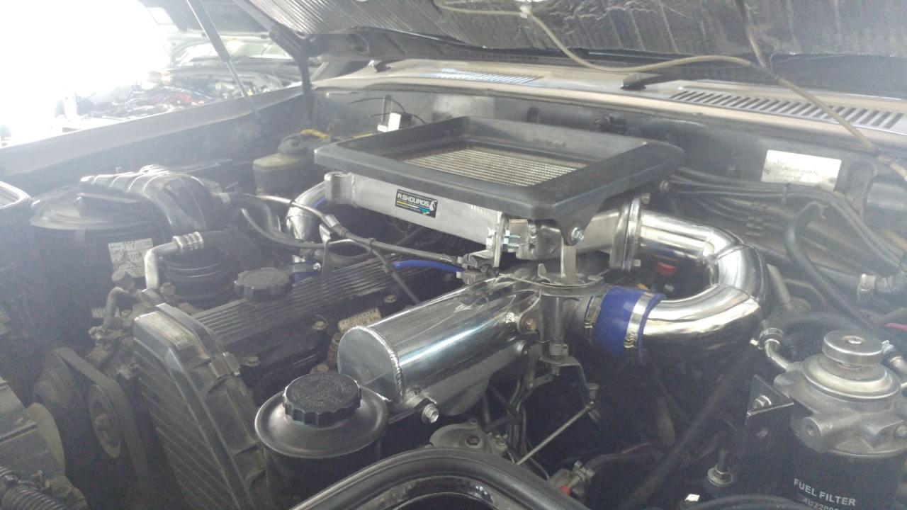 Top mount Intercooler   diesel   IH8MUD Forum
