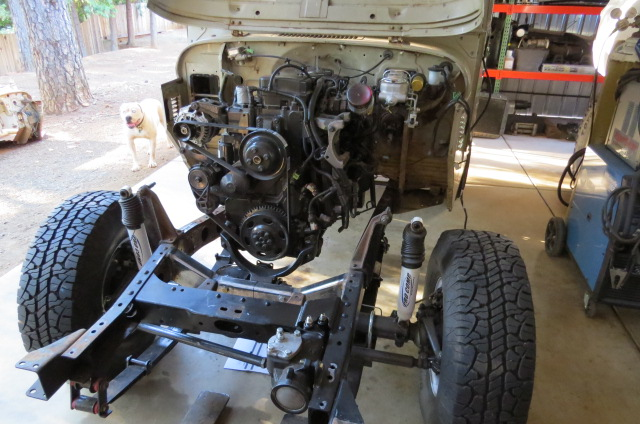 San Jose Toyota >> Builds - 1975 FJ40 4.5L cummins build | IH8MUD Forum