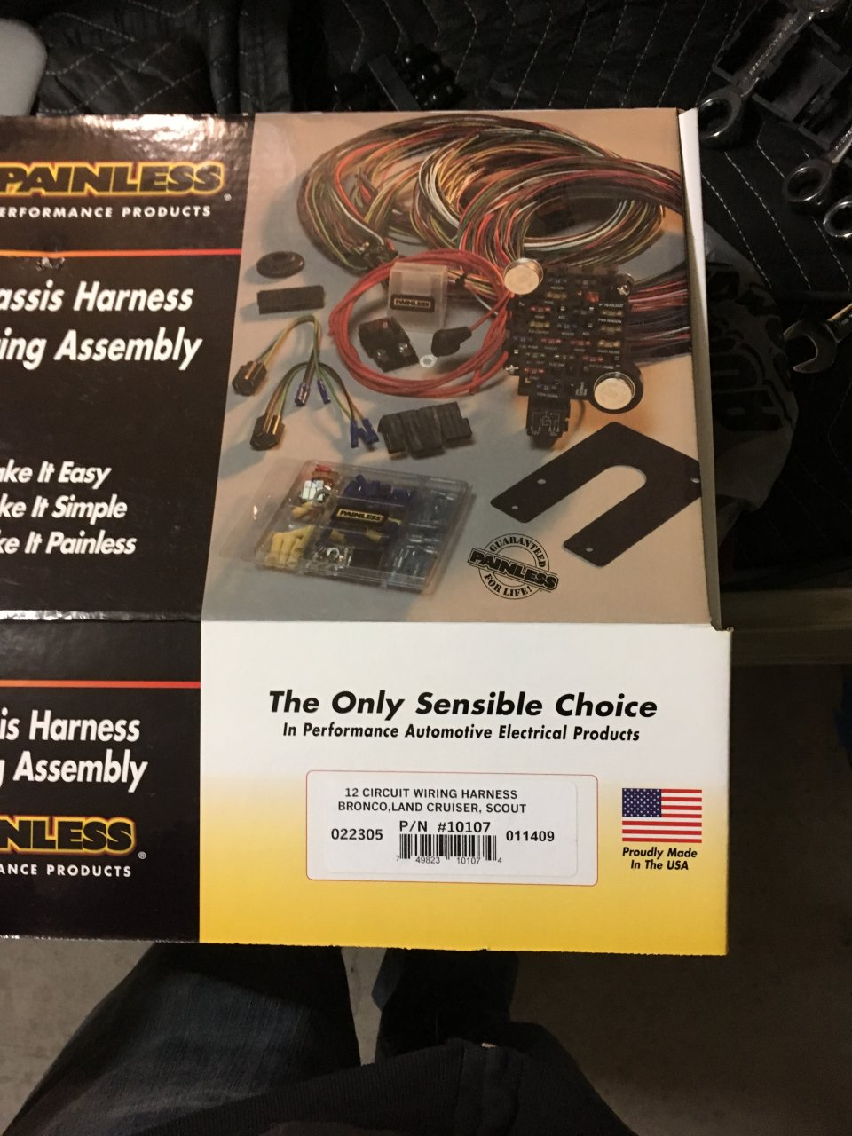 For Sale Painless 10107 wiring harness new in box.