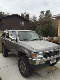for sale 1993 lifted 4runner w 5vz 3 4l conv western