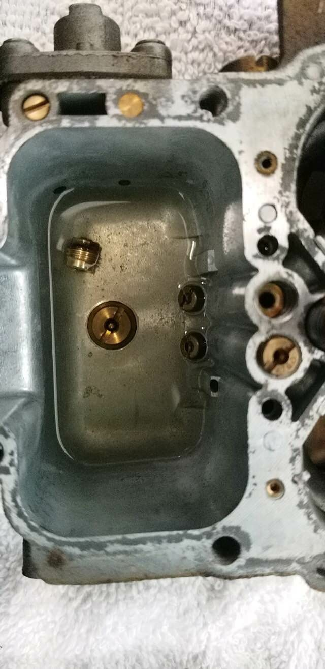 Weber carb issue  Bogs down/backfires from carb on full pedal