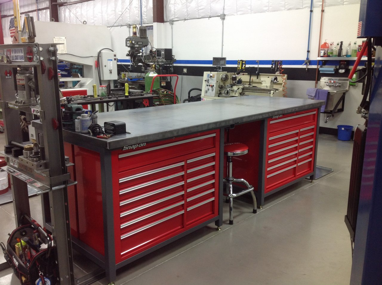 Four Tool Box Work Bench Island Ih8mud Forum