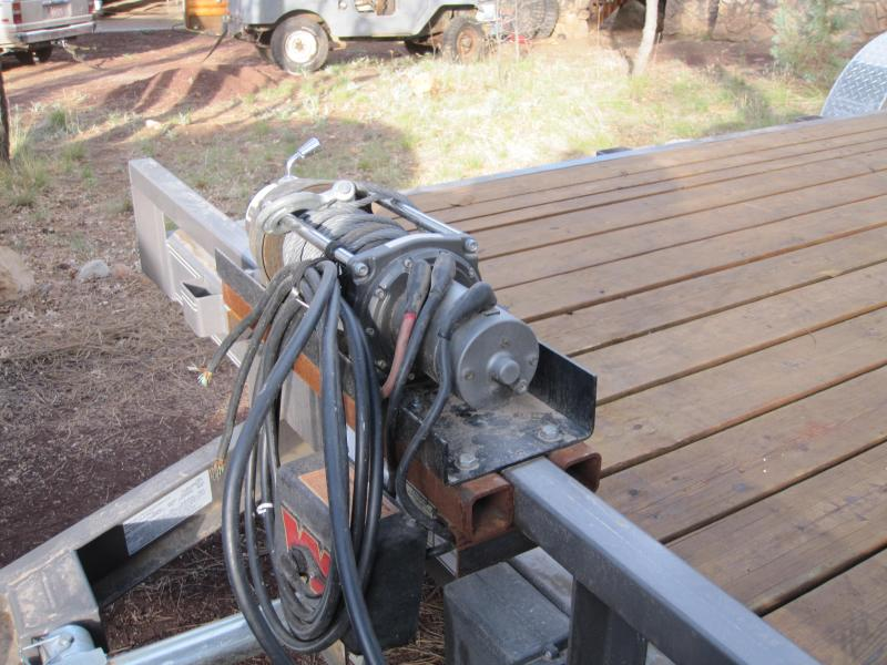 Car Trailer Winch >> Need To Mount A Winch To My Car Trailer Show Me Your Pics Ih8mud