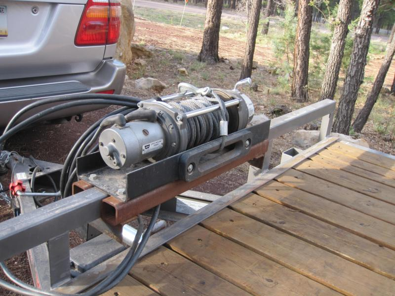 need to mount a winch to my car trailer show me your pics ih8mud rh forum ih8mud com Winch Switch Wiring install car trailer winch