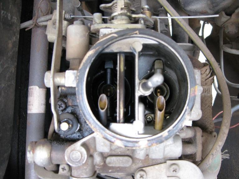 adjusting or tuning my 77 fj40 carburetor ih8mud forum rh forum ih8mud com Land Cruiser 2F Engine Toyota F Engine