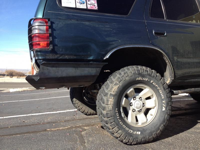 3rd Gen 4Runner 4x4 Labs Rear Bumper | IH8MUD Forum