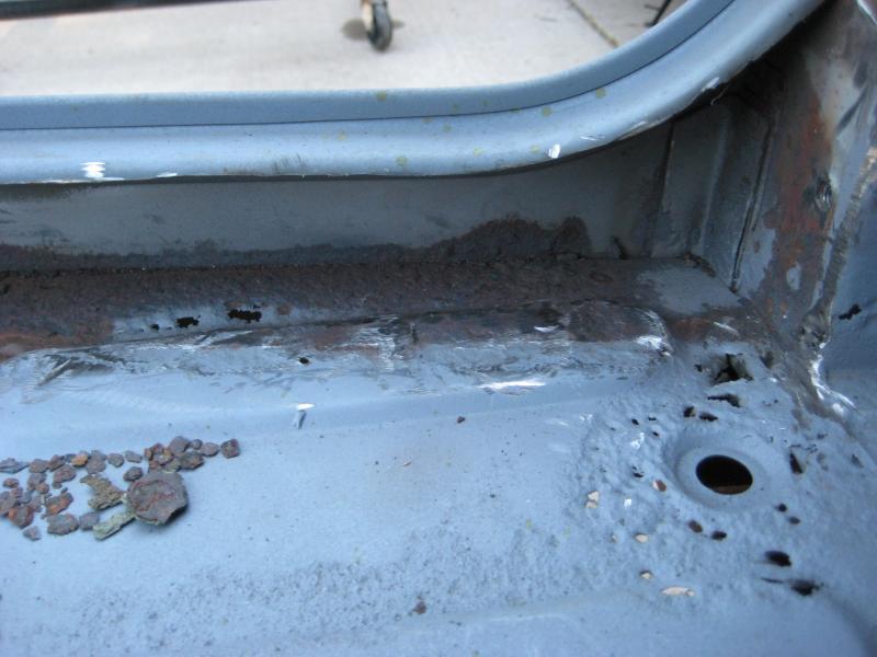 Rust Pitting Por 15 Body Filler And Bedliner Q S