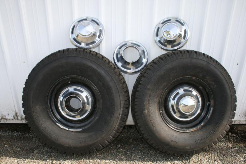 Five Star Toyota >> For Sale - Five original FJ40 wheels with caps AND tires | IH8MUD Forum