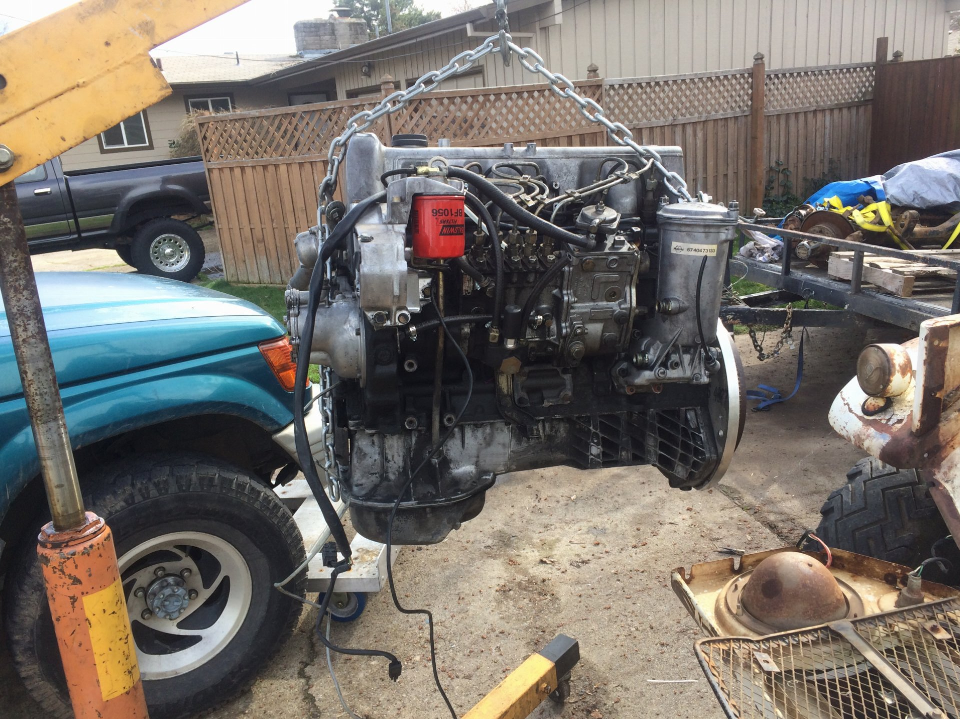 Builds - Another OM617 in an FJ40 thread | IH8MUD Forum