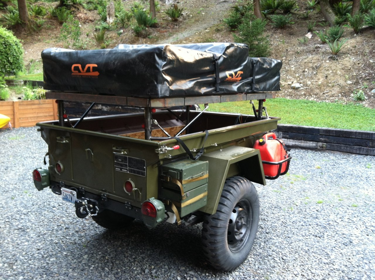 3 Weeks 9 States And A 45 Year Old Fj40 M416 Combo