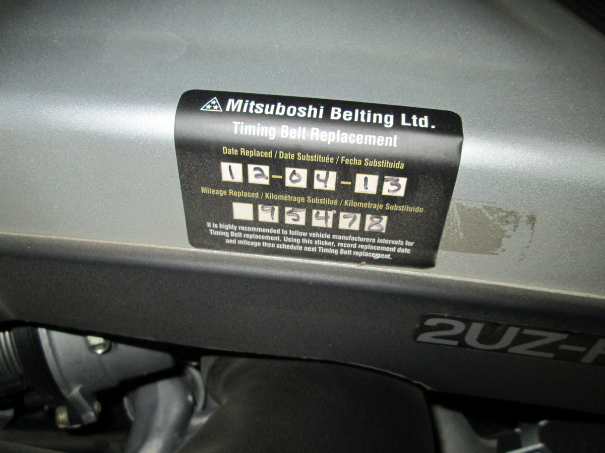 How to tell if timing belt has been changed? | IH8MUD Forum
