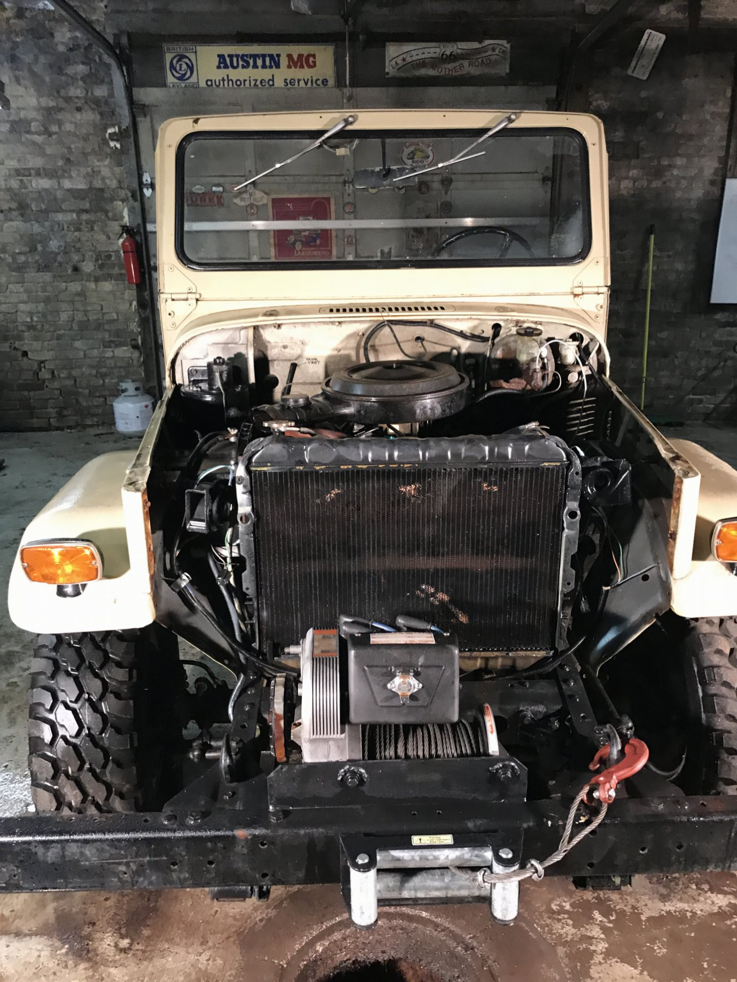 Painless Wiring Harness Toyota Fj40 Diagram For Sale Land Cruiser 1973 Project Ih8mud Forum I Have Other Pictures And Can Answer Any Questions About The At
