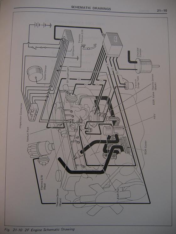 Vacuum Diagram For A 1977 Fj40
