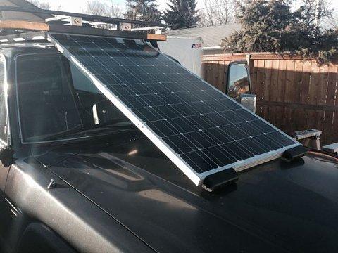 Solar Panels Under The Roof Rack Ih8mud Forum