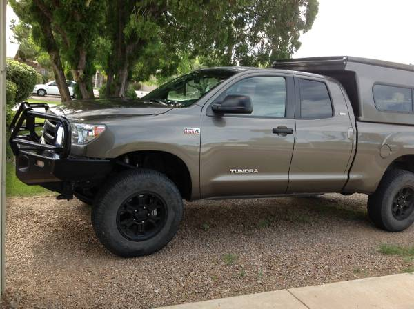 For Sale 2010 Built Toyota Tundra With Flippac Camper