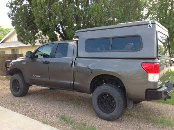 View attachment 1288903 & For Sale - 2010 Built Toyota Tundra with Flippac camper / tent ...