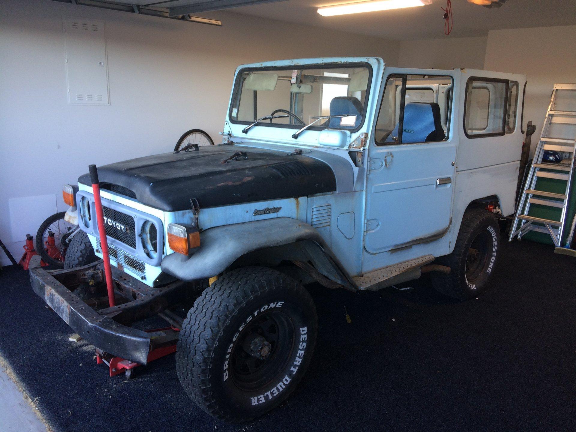 1984 FJ40 Restoration In New Zealand #fj40_build_nz | IH8MUD Forum