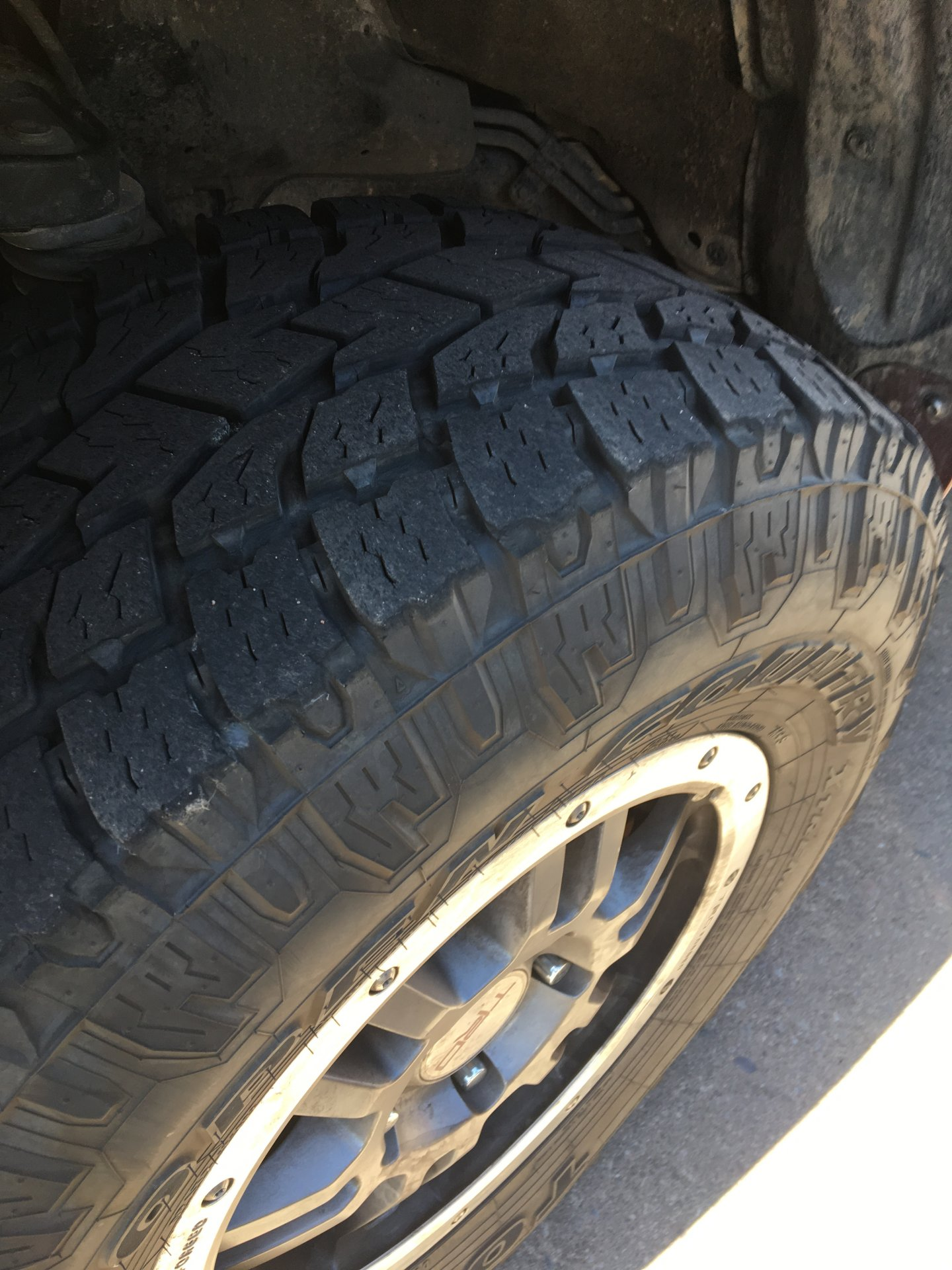 For Sale Set of 5 285 75 17 TOYO ATIIs $500 located in Phoenix