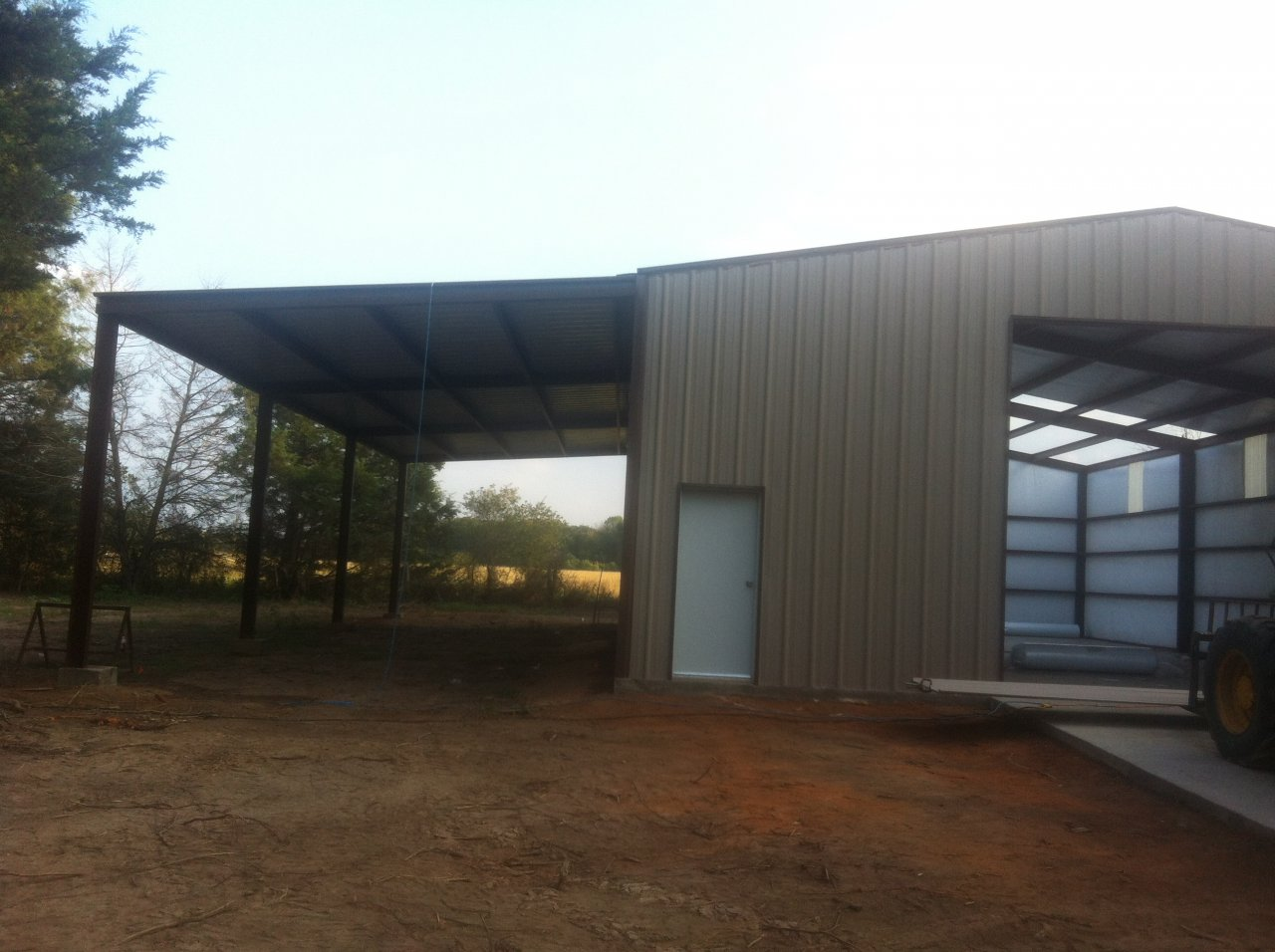 What kind of shop building do you have metal building or for Building a shop house