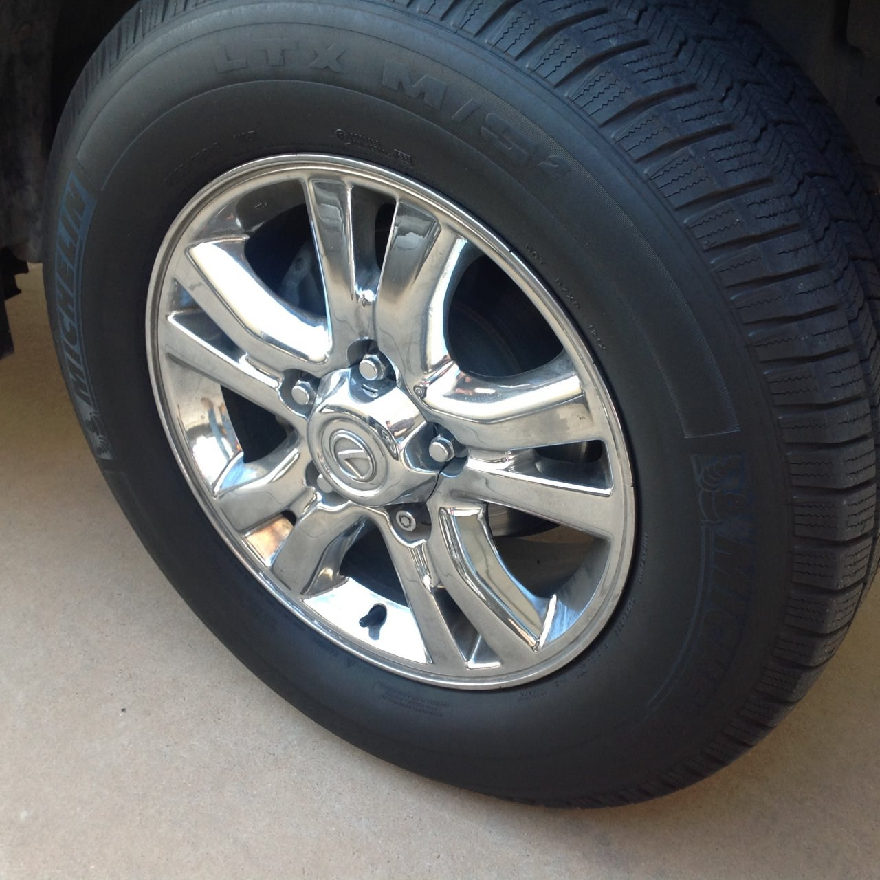 Wanted - Need LX 470 Chrome Wheel(s)