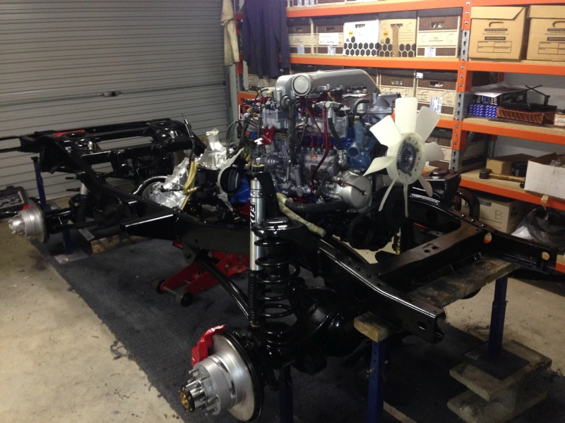 40 Series Chassis, 80 Series Suspension - Kept it Simply ...
