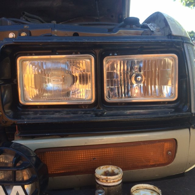 Headlight Upgrade Fj62 Vision