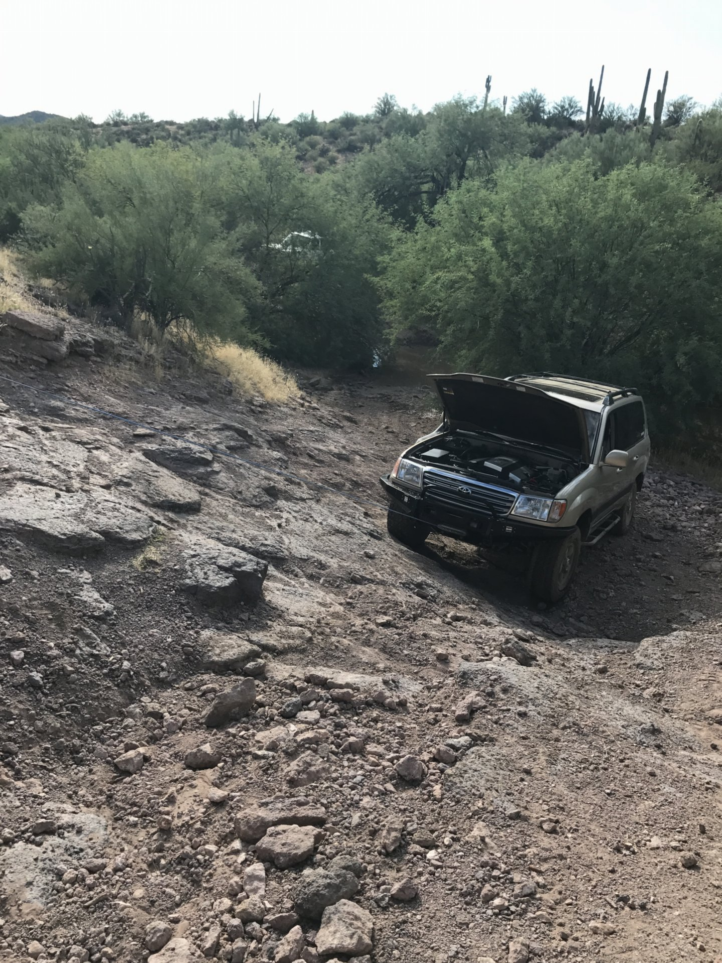 What did you do to your Land Cruiser Toyota Lexus 4X4 this week