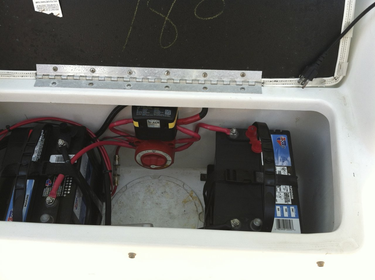 Boat Dual Battery Setup How To Install A Marine System Trailer Winch Wiring Diagram One Of Them Want Having House Appliances Engine Off