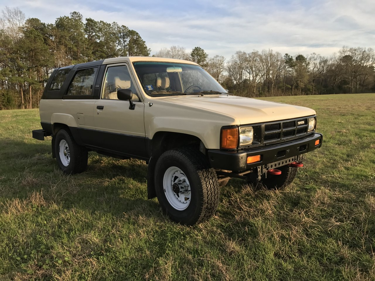 for sale 1985 toyota 4runner 22re with factory solid. Black Bedroom Furniture Sets. Home Design Ideas