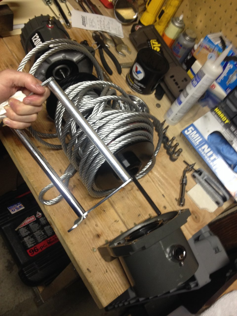 HF Badlands 12 k DIY winch hack waterproof upgrade mod | IH8MUD Forum