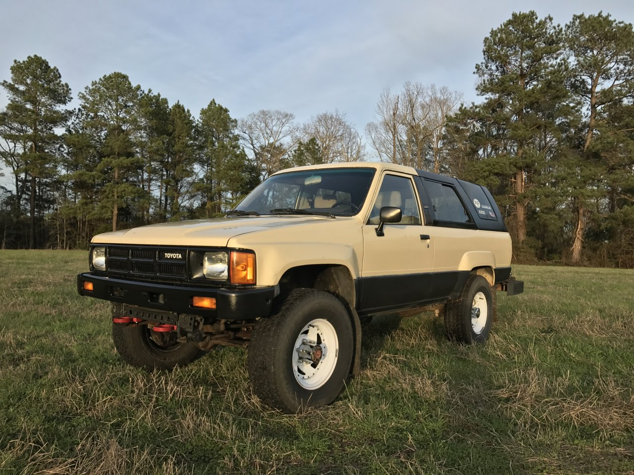 for sale 1985 toyota 4runner 22re with factory solid axle ih8mud forum. Black Bedroom Furniture Sets. Home Design Ideas