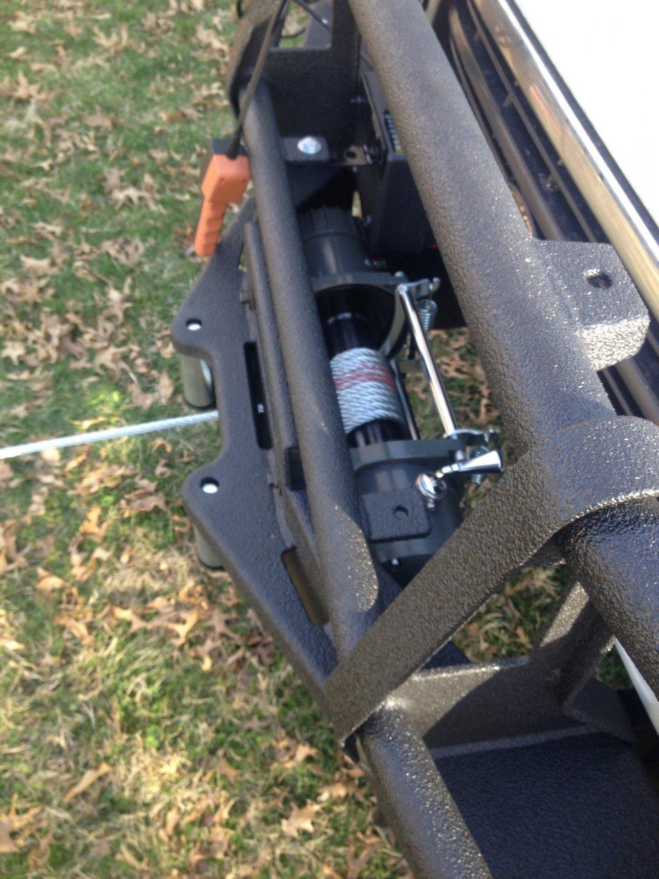 HF Badlands 12 k DIY winch hack waterproof upgrade mod