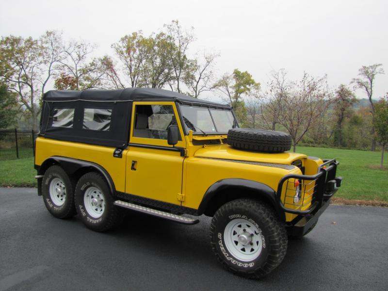 Dealer 1974 Landrover Defender 6 X 6 For Sale
