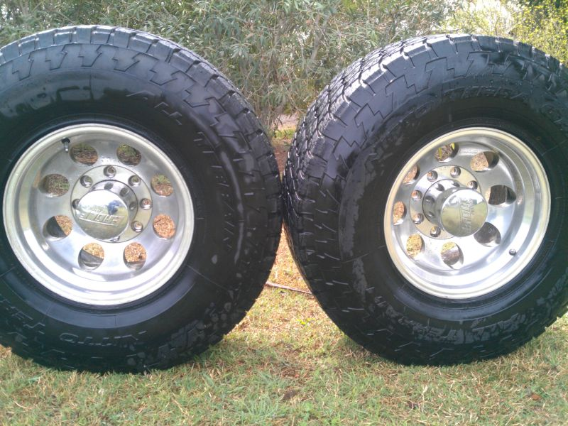 Toyota Tacoma Diesel >> For Sale - 315/75r16 Nitto Terra Grappler on Eagle Alloys ...