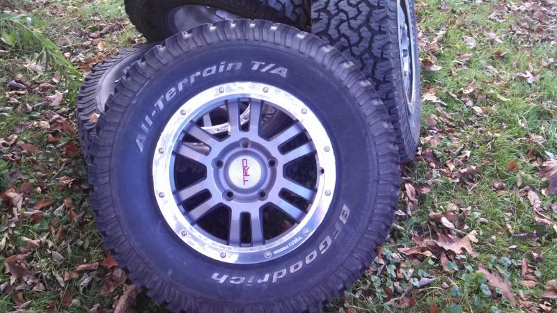 Craigslist Tampa Bay Florida >> For Sale - Toyota Tundra Rock Warrior Wheels And tires ...