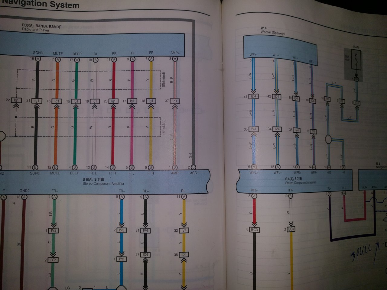 Stereo Wiring Diagram For 03 100 Series