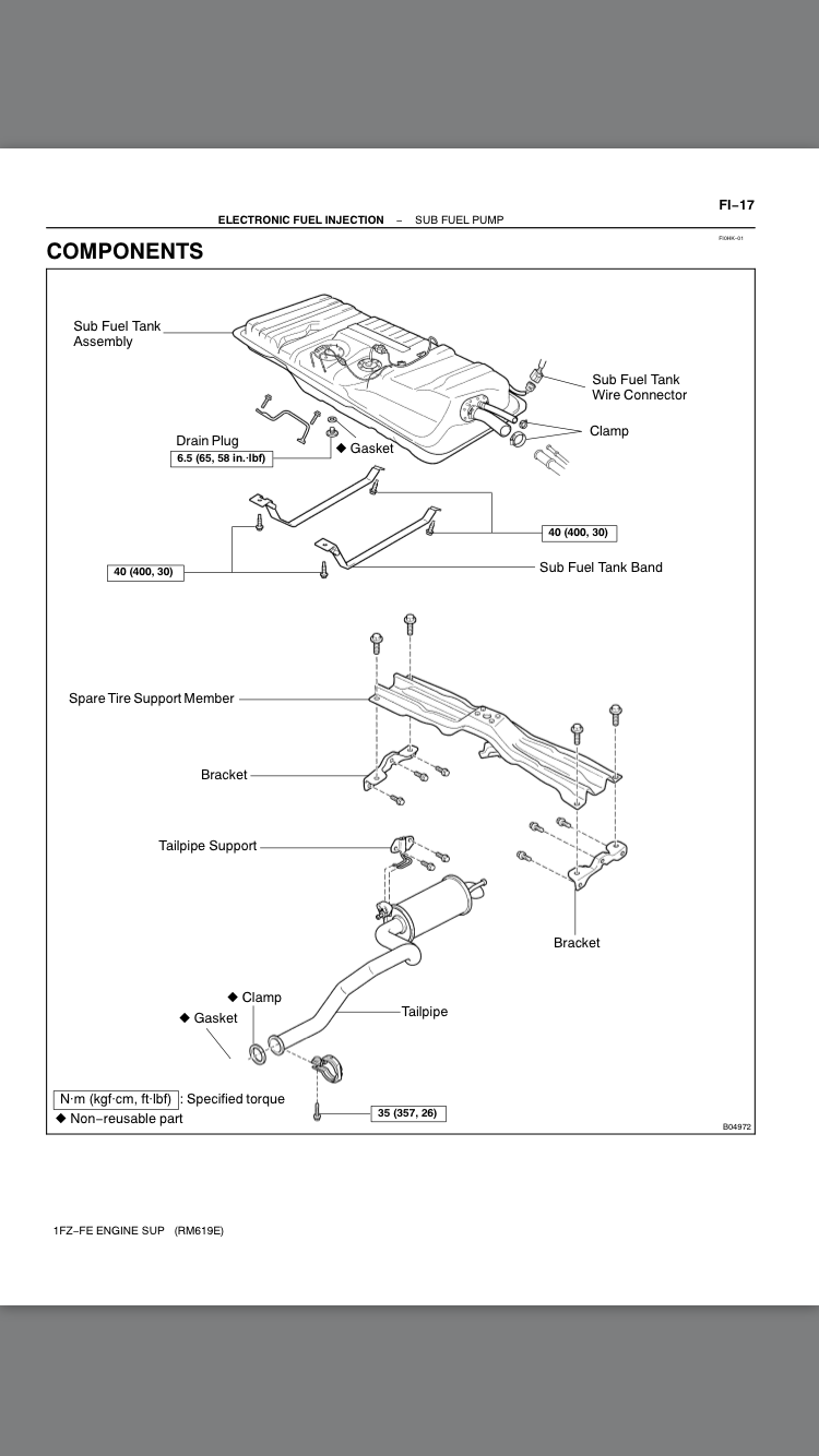 100 Series Oem Auxiliary Fuel Tank Wiring Diagram