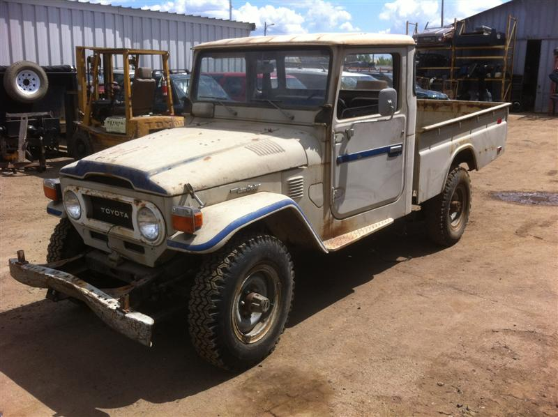 Toyota Suv Kijiji Edmonton: 1977 Land Cruiser Canadian FJ45 1 Ton Pick-Up For Sale