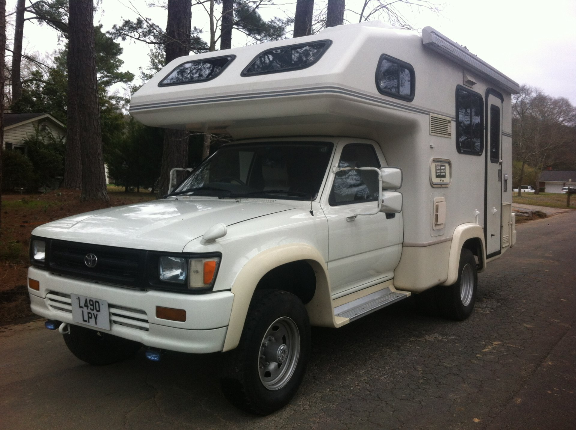 For Sale 1993 Toyota Hilux 4x4 Camper Ih8mud Forum