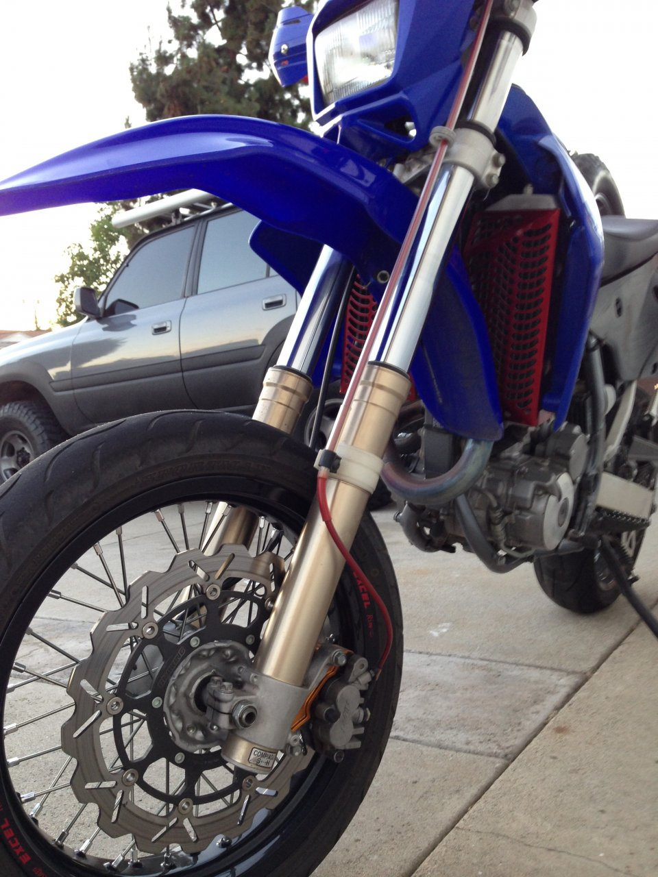 For Sale - 2007 Drz-400s With Dirt and Supermoto Wheelset