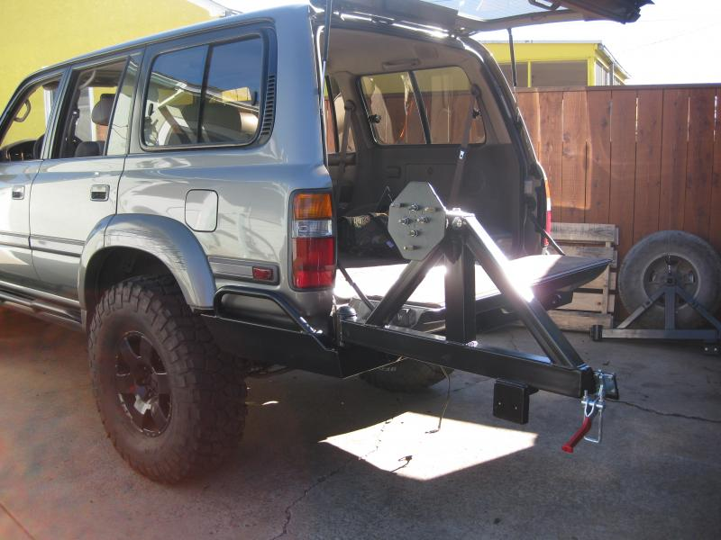 Toyota Elk Grove >> 80 series swing out tire carrier bumper | IH8MUD Forum