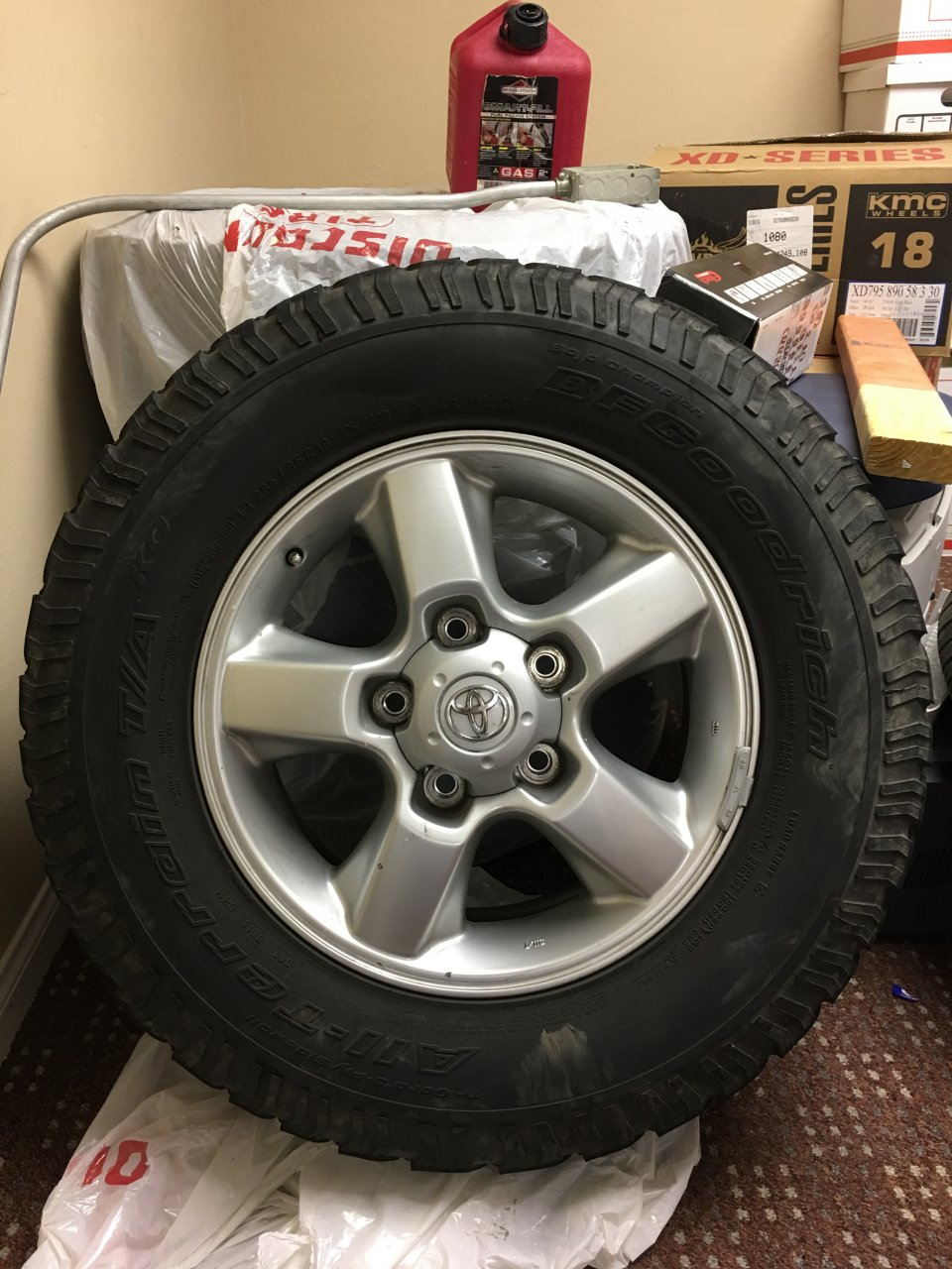 For Sale - 2003 stock Land Cruiser rims for sale | IH8MUD ...