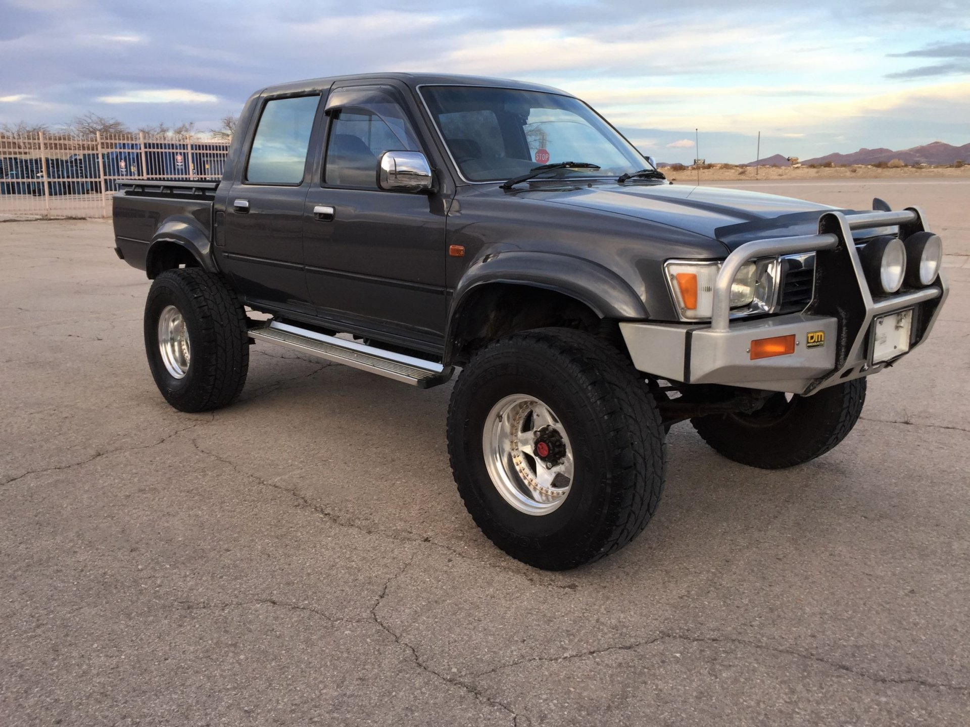 for sale 1991 toyota 4x4 diesel hilux truck right hand. Black Bedroom Furniture Sets. Home Design Ideas