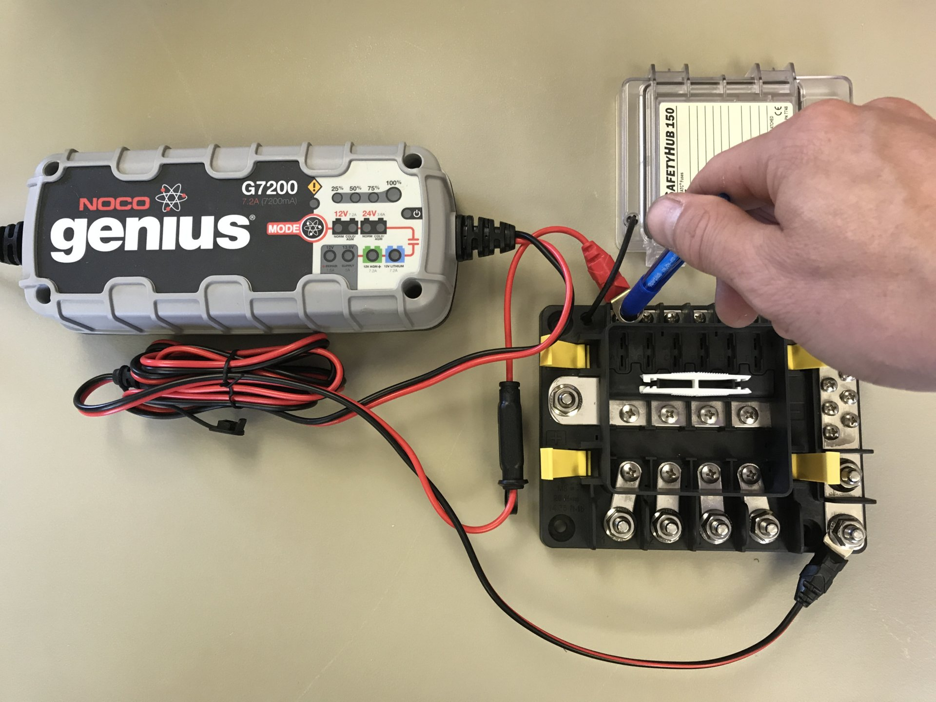 24v Float Maintenance Battery Charger Ih8mud Forum Noco Wiring Diagram Img 2670