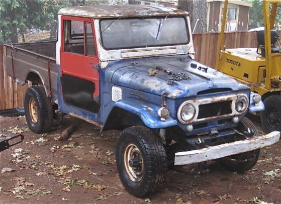 For Sale - 1966 FJ45 Land Cruiser Pickup | IH8MUD Forum