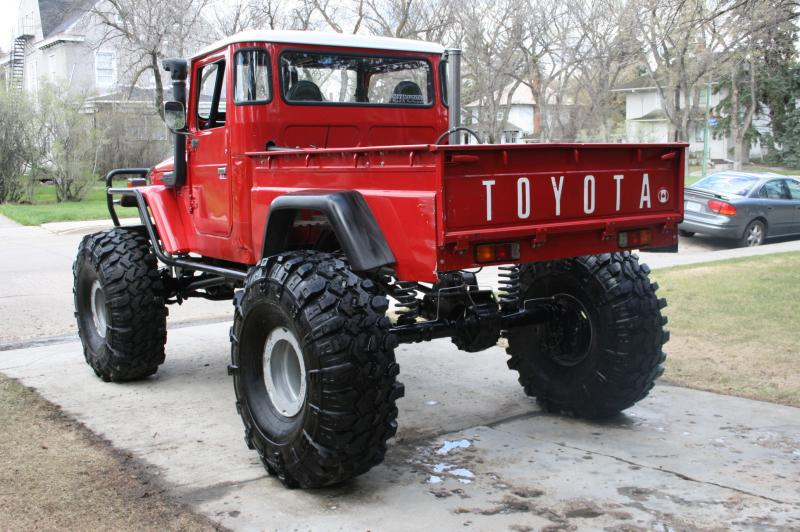 For Sale Fj45 From Top Truck Challenge With Mog Axles