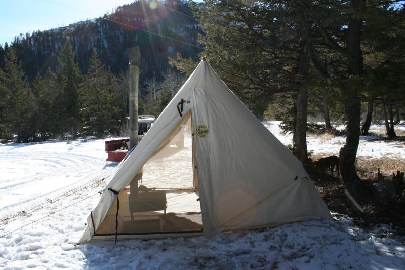 IMG_3796.jpg & Montana canvas wedge tent review | IH8MUD Forum
